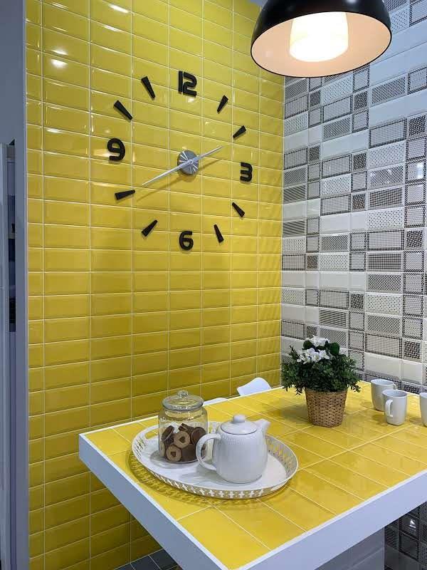 Yellow Metro Tiles