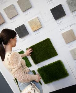 Bonnie Ryan Shops for Artificial Grass in Tile Merchant Coolock