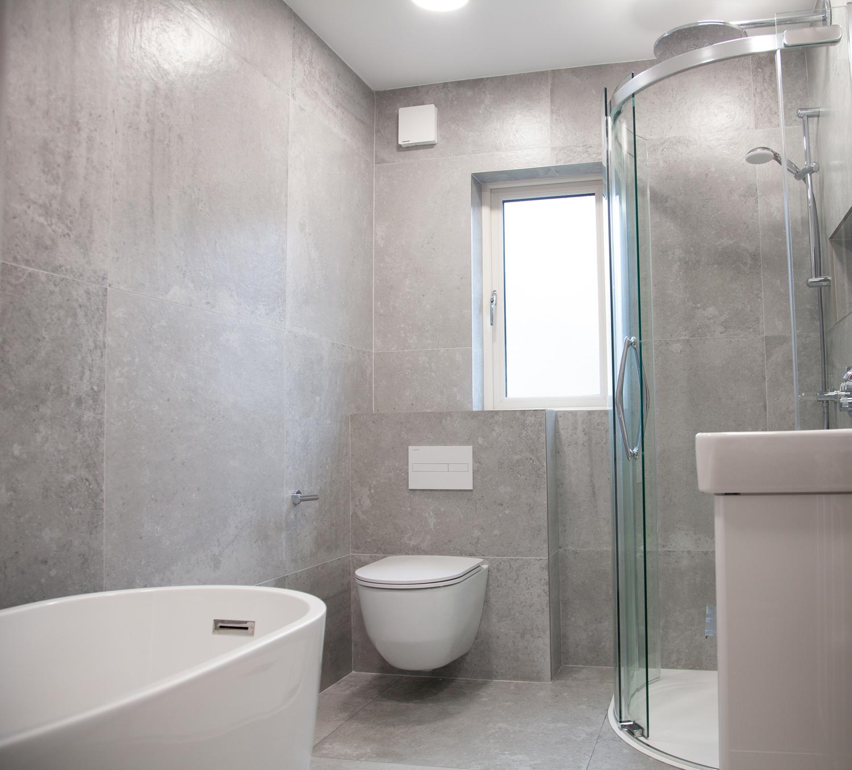 Grey Bathroom Tiles www.tilemerchant.ie