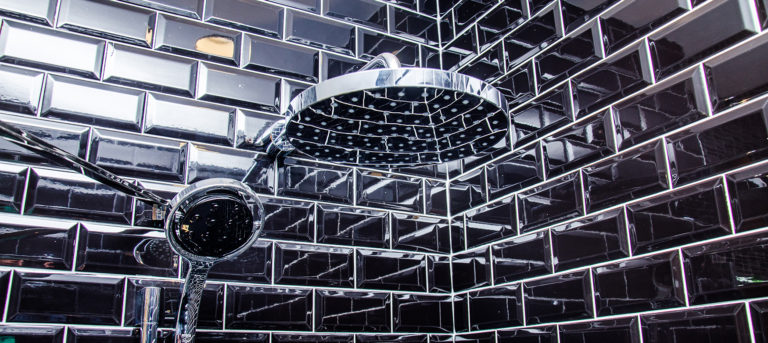 Black Shower Tiles www.tilemerchant.ie