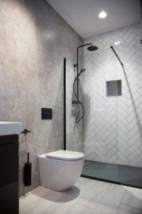 White Metro Tile Bathroom www.tilemerchant.ie