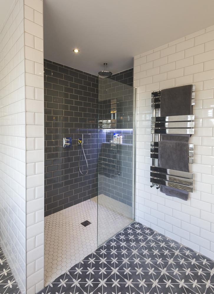 Metro Tile Walk-in Shower