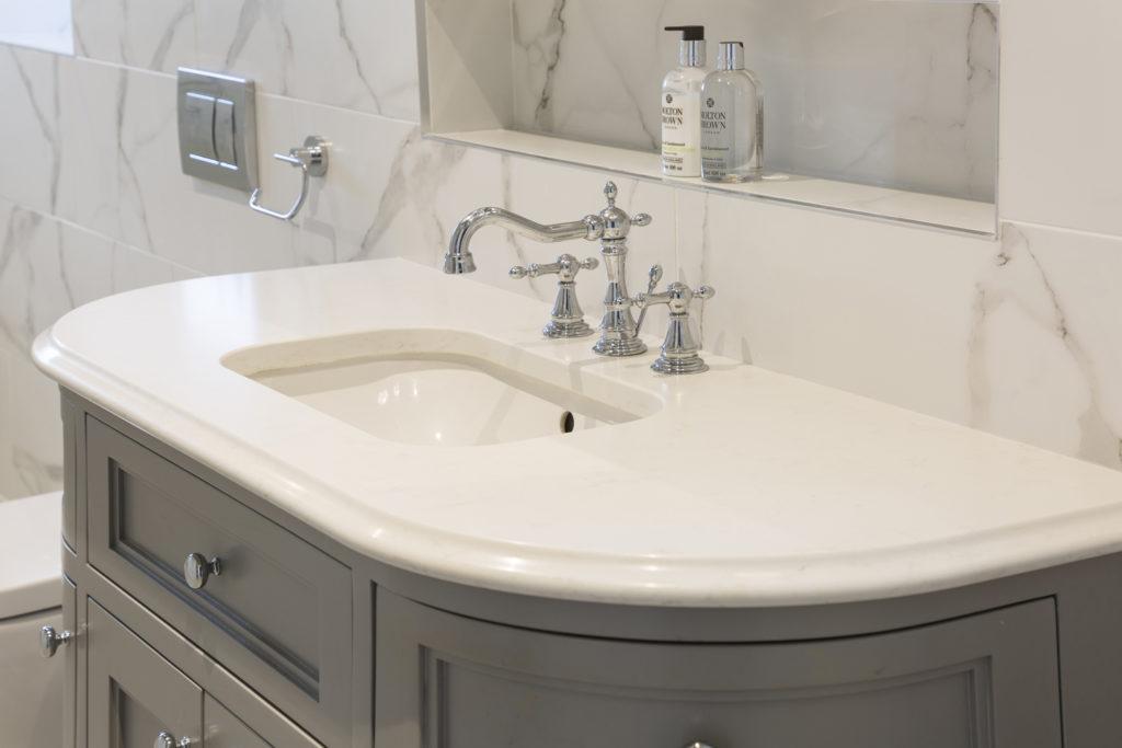 Victorian Inspired Design Bathroom