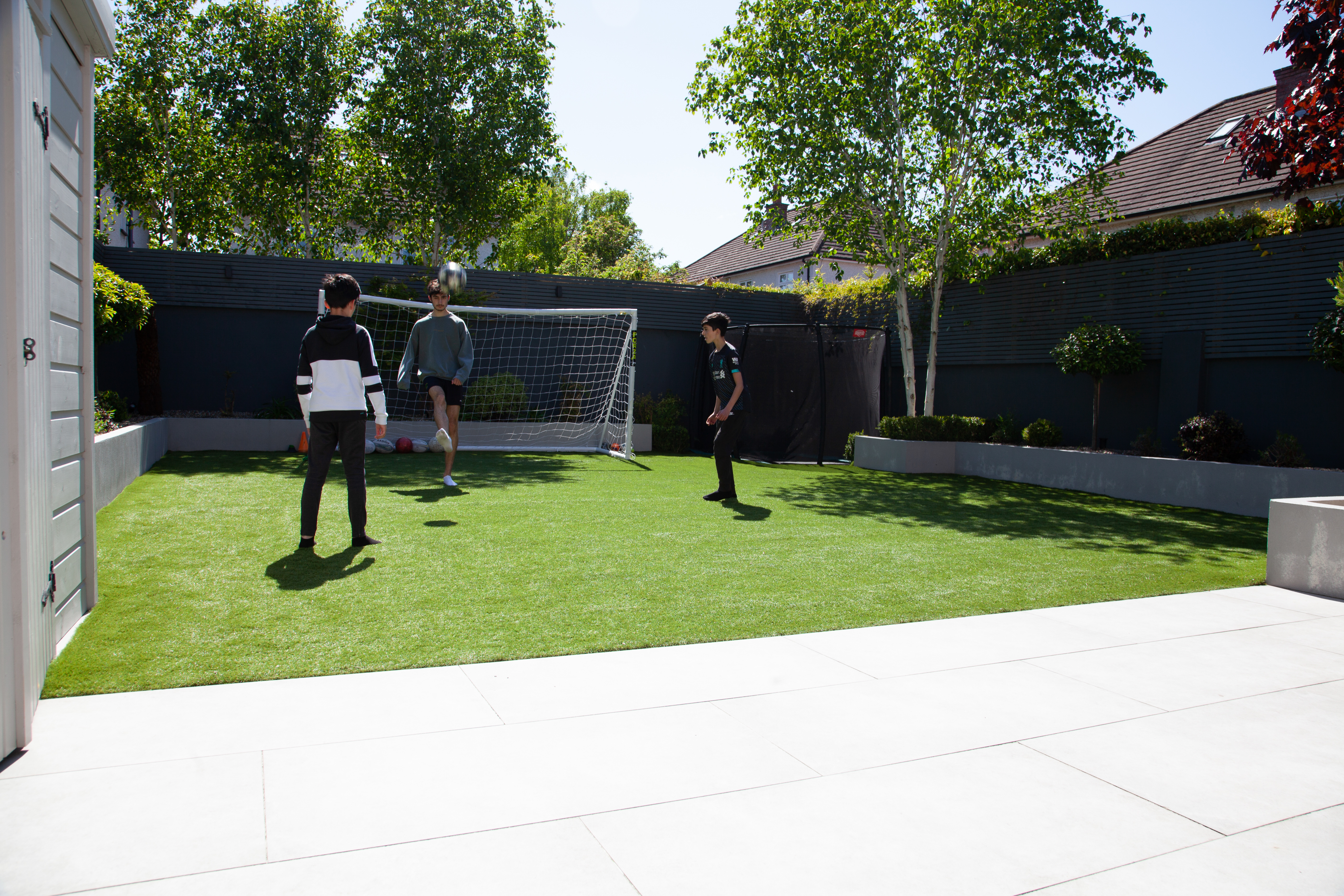 20mm Porcelain Paving football pitch