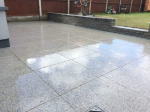 Grey Granite Paving Slabs