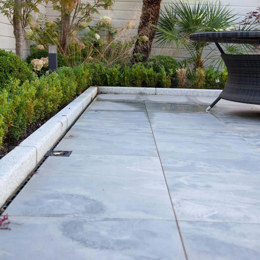 Outdoor Porcelain Patio created with Beside Grey