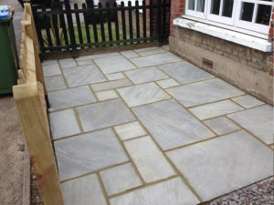 How to Install Natural Stone Paving
