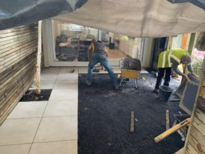 How to install limestone, sandstone and granite slabs