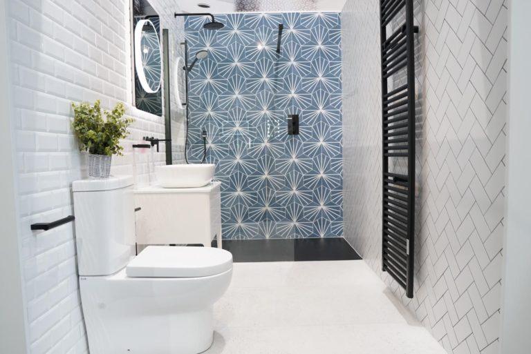 Lilypad Hexagon Azul Porcelain Matt 23x20cm