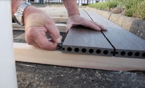 composite decking how to install