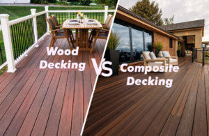 Differences between wooden decking and composite decking
