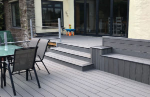 Grey Composite Decking Tile Merchant