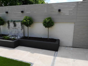 Outdoor makeovers fencing, plants and tiles