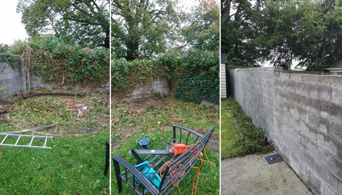 Garden Renovation and Makeovers Ireland before and after