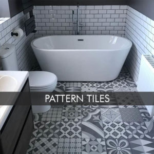 Pattern Tiles Bathroom