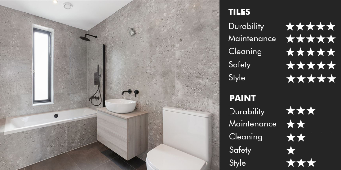 Colour trends for bathrooms