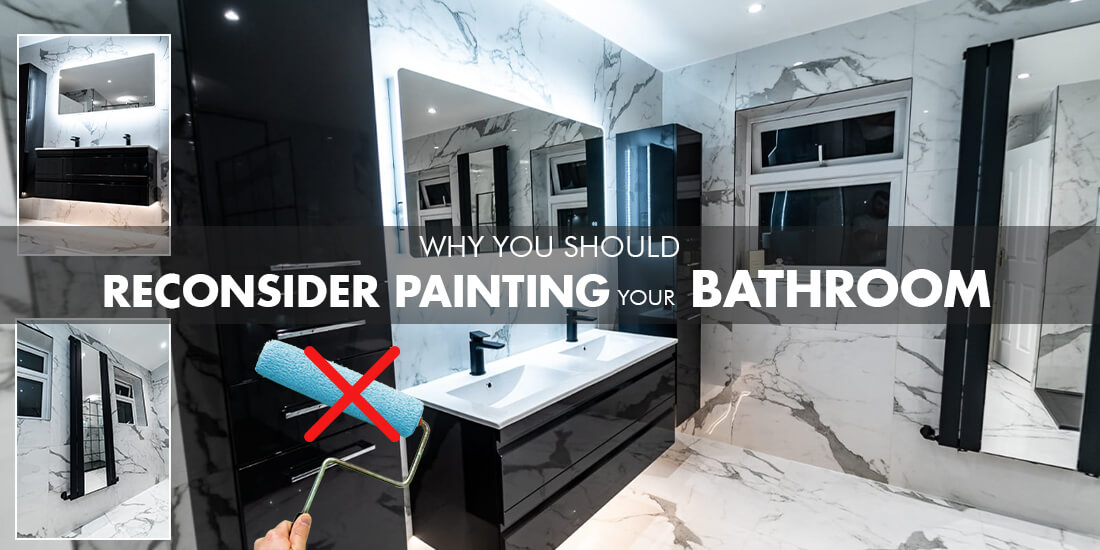 Does painting over bathroom tiles work?